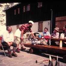 vor TÜ-Hütte