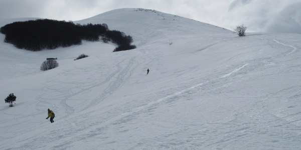 Rifugio Barrasso - Gipfelflanke Monte Rapina