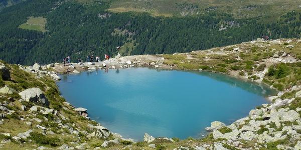 See oberhalb der Hütte