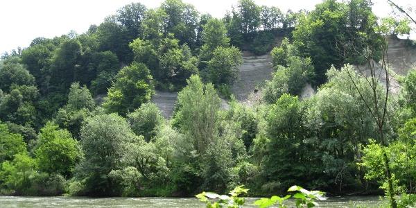 Flussablagerung bei Sladki Vrh
