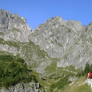 Hüttenwanderung - Hüttenwoche Ammergauer Alpen (4.Etappe von 6)