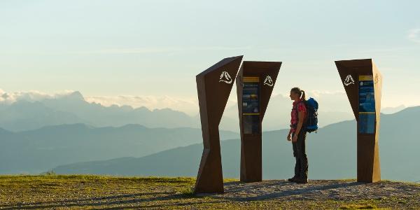 Start-Zielpunkt Gerlitzen Alpe