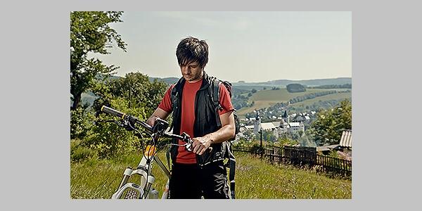 Blick auf Schloss Schwarzenberg