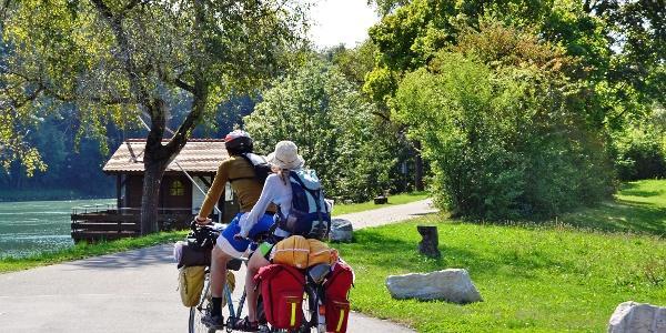 Zügig mit Zug und Rad unterwegs