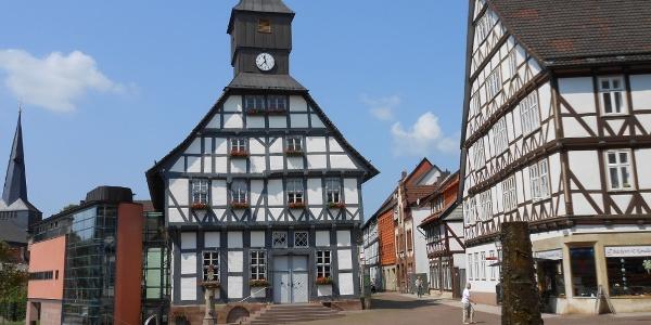 Touristik-Information Uslar im historischen Rathaus