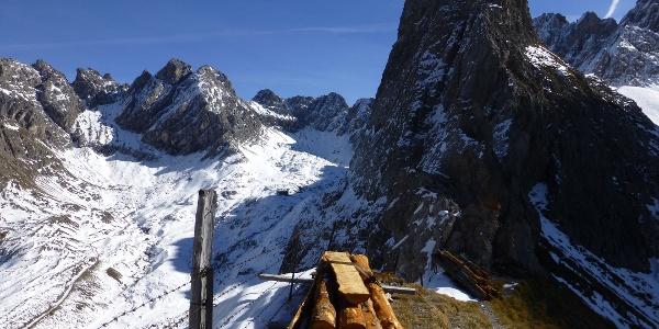 Am Kerschbaumertörl (2285 m)