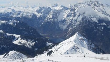Gipfelfoto zum Königssee, Jenner, Watzmann