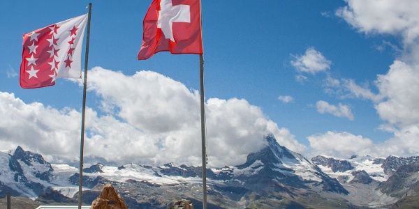 The view of Matterhorn from Rothorn