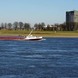 Rheinufer bei Neuss