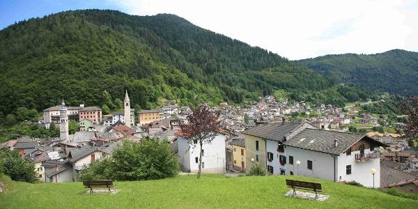 Castello Tesino panoramica