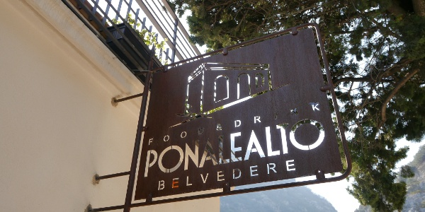 Das Restaurant Ponale Alto Belvedere
