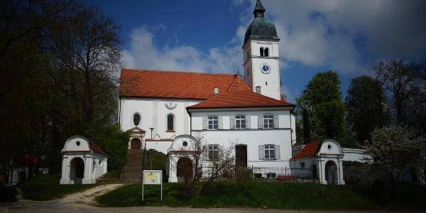 Wallfahrtskirche Mariä Himmelfahrt in Allersdorf