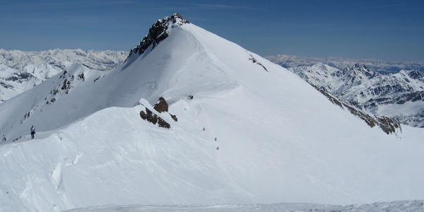Zufallspitze - Ansicht von Monte Cevedale