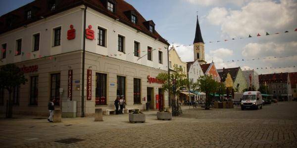 Etappenstart Kelheim