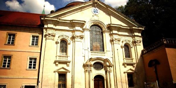 Das Kloster Weltenburg mit Asamkirche