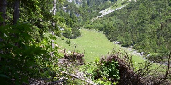 Aufstieg zur Erfurter Hütte