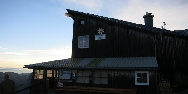 Simonyhütte in der Früh