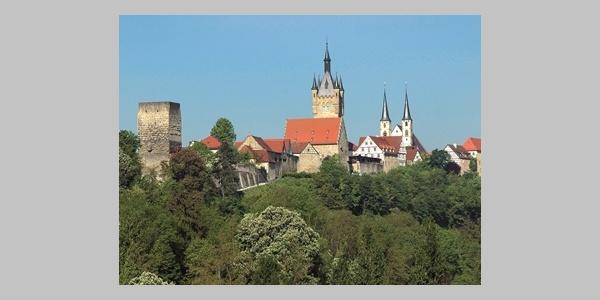 Bad Wimpfen am Neckar - Silhouette Kaiserpfalz