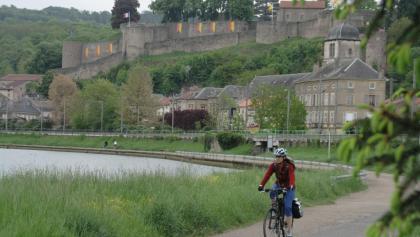 Der Mosel-Radweg bei Thionville