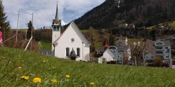 Kirche von Morschach.