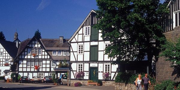 Fachwerkhäuser in Oberkirchen