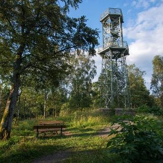 Aussichtturm auf dem Wilzenberg bei Grafschaft
