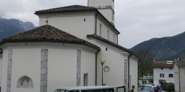 Parkplatz an der Kirche von St. Giorgio