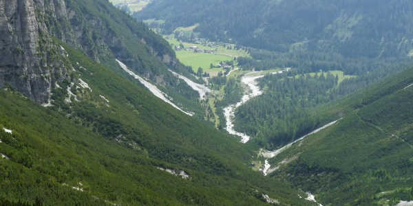 Herrlicher Blick auf das Obernbergtal.