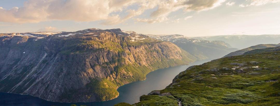 Abendstimmung in Norwegen