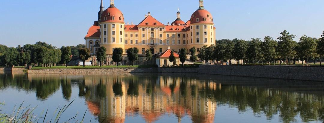 Schloss Moritzburg nahe Dresden