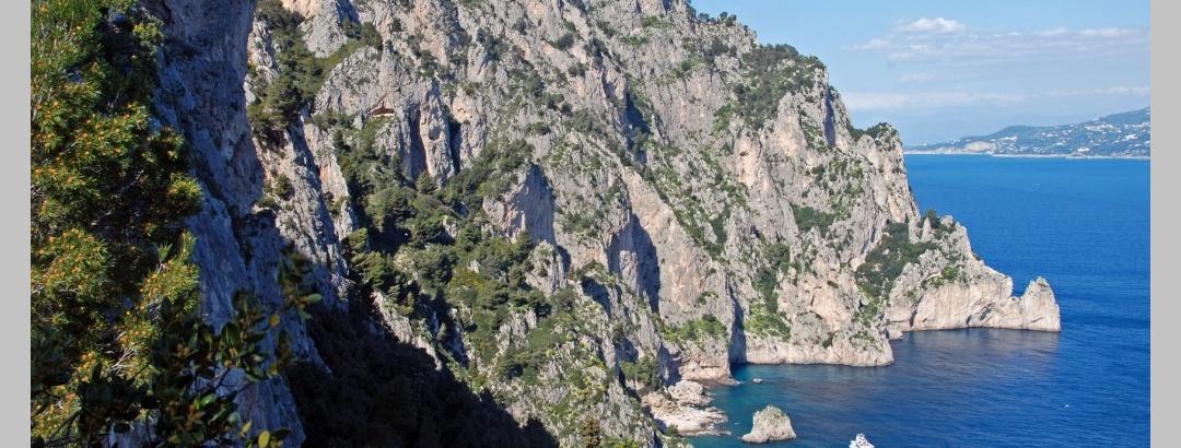 Die Ostküste der Insel Capri