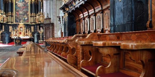 Prunkvoll ist die Kirchen im Stift Lilienfeld (Copyright: weinfranz.at)