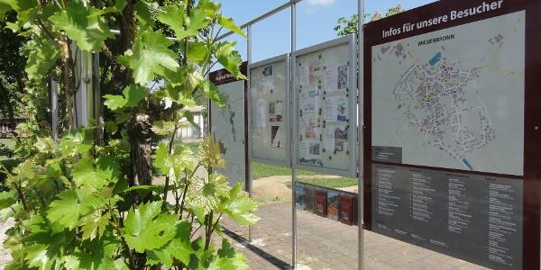 Infopunkt am Seegarten