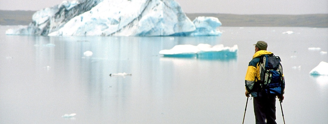 Eisberge im Jökulsárlon