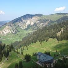 Bergstation Taubensteinbahn