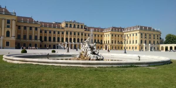Entree Schloss Schönbrunn