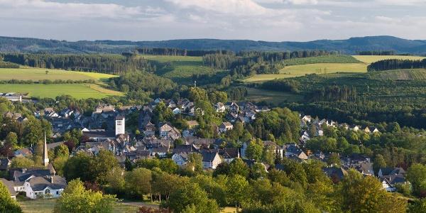 Luftaufnahme über Bad Fredeburg