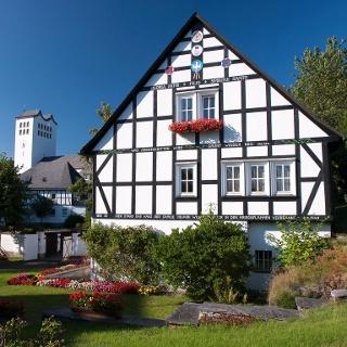 Fachwerkhäuser in Bad Fredeburg