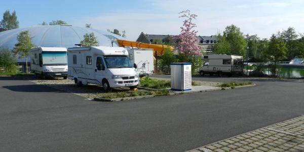 Wohnmobilstellplatz am Johannisbad Freiberg