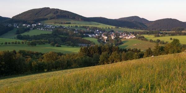 Blick über Holthausen