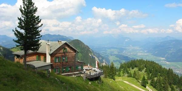 Blick in Richtung Inntal und Wilder Kaiser