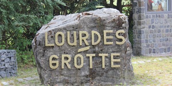 Die Lourdes Grotte in Grimlinghausen