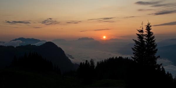 Sonnenaufgang über dem Wilden Kaiser