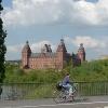 Mainbrücke Aschaffenburg Schloss Johannisburg
