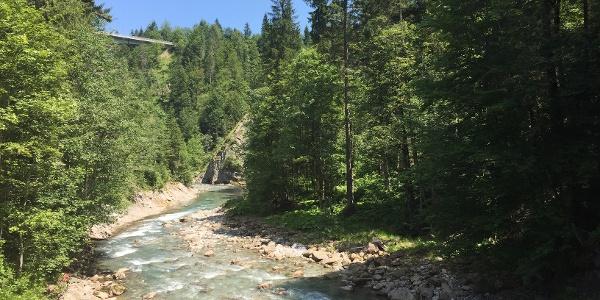 Brücke über die Breitach