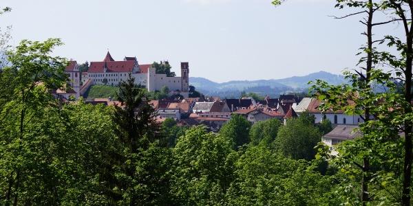 Blick zum Hohenschloss Füssen
