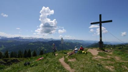 Gipfelkreuz auf dem Siplinger Kopf