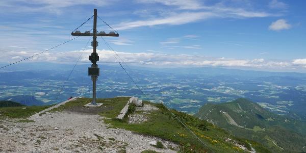 Gipfelkreuz des Hochobir
