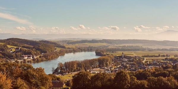 Ausblick vom Naturfreundestein in Persenbeug-Gottsdorf