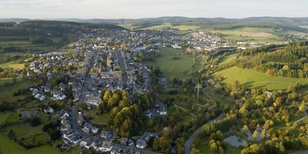 Luftaufnahme von Schmallenberg